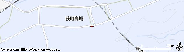 大分県竹田市荻町高城925周辺の地図