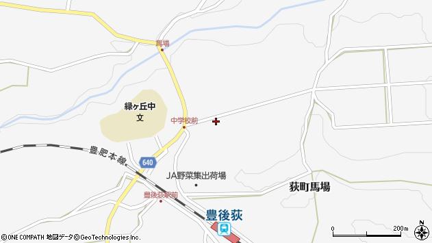 大分県竹田市荻町馬場954周辺の地図