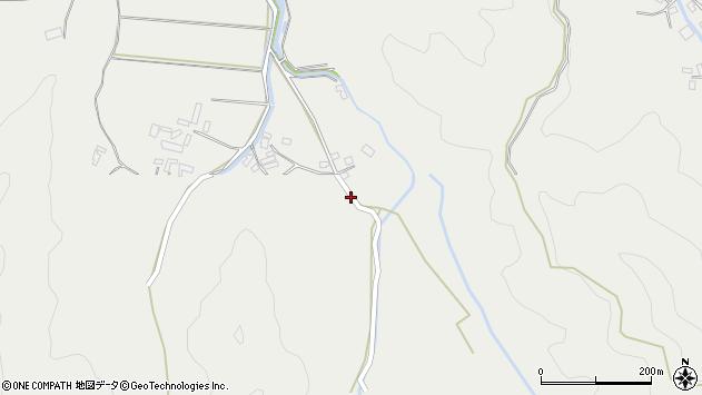 大分県佐伯市長良3823周辺の地図