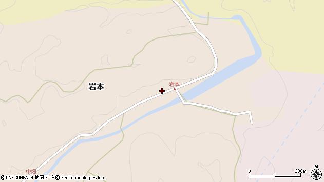 大分県竹田市岩本1845周辺の地図