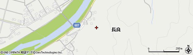 大分県佐伯市長良2506周辺の地図