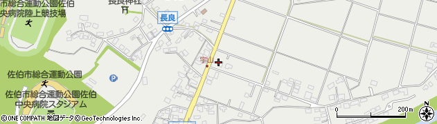 大分県佐伯市長良797周辺の地図