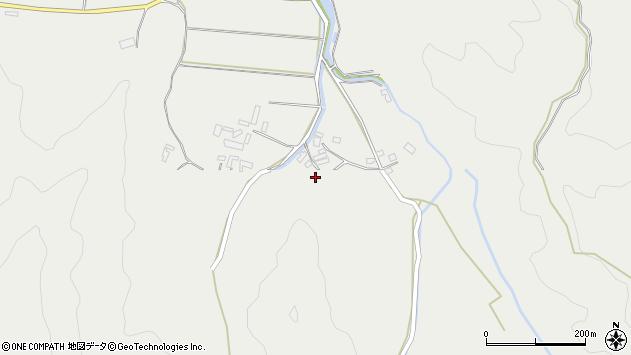 大分県佐伯市長良3802周辺の地図