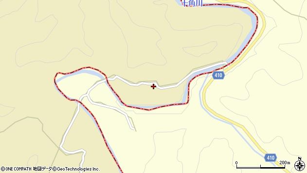 大分県竹田市太田41周辺の地図