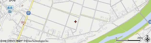 大分県佐伯市長良江頭区周辺の地図