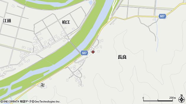 大分県佐伯市長良2460周辺の地図