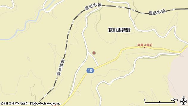 大分県竹田市荻町馬背野688周辺の地図