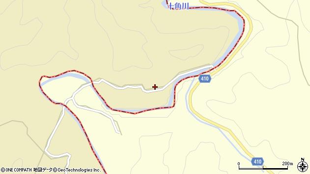 大分県竹田市太田48周辺の地図