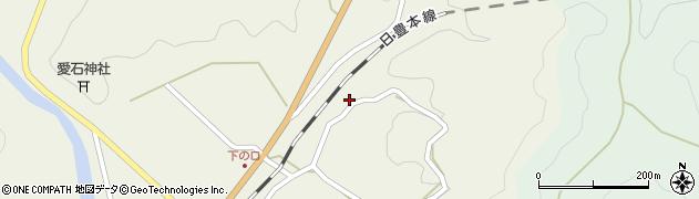 大分県佐伯市直川大字下直見2774周辺の地図