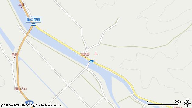 大分県佐伯市木立6265周辺の地図