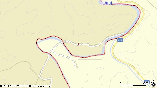 大分県竹田市太田周辺の地図