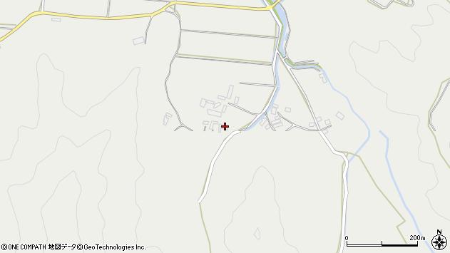 大分県佐伯市長良3686周辺の地図