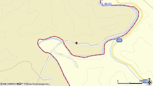 大分県竹田市太田25周辺の地図
