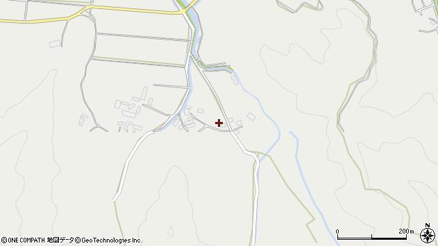 大分県佐伯市長良3774周辺の地図