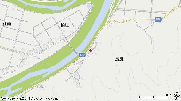 大分県佐伯市長良2536周辺の地図
