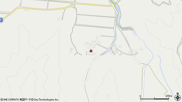 大分県佐伯市長良3591周辺の地図