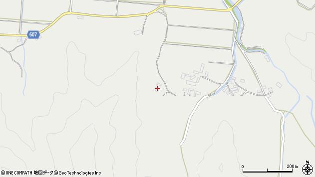 大分県佐伯市長良3600周辺の地図