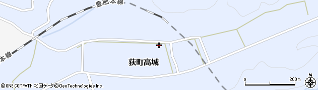 大分県竹田市荻町高城1020周辺の地図
