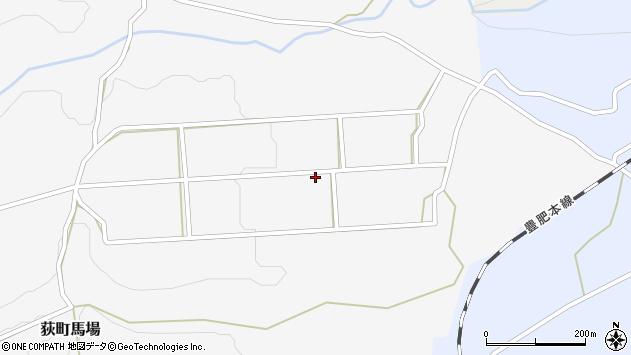 大分県竹田市荻町馬場270周辺の地図