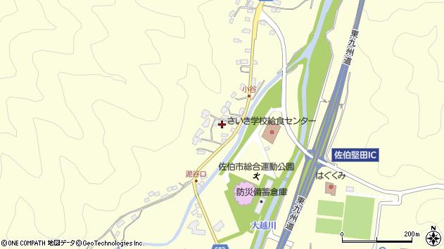 大分県佐伯市長谷5631周辺の地図