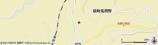 大分県竹田市荻町馬背野685周辺の地図