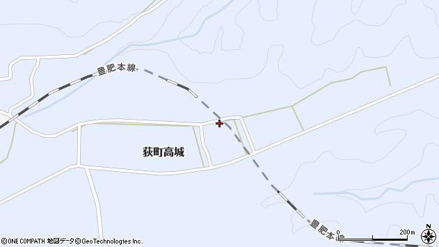 大分県竹田市荻町高城998周辺の地図