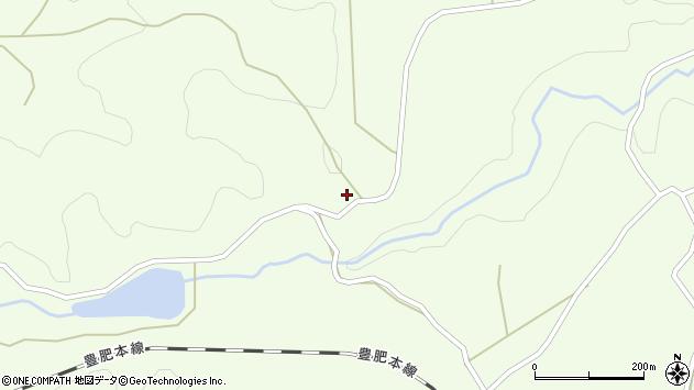 大分県竹田市荻町藤渡122周辺の地図