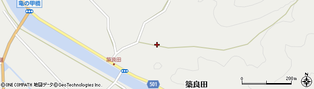 大分県佐伯市木立6184周辺の地図