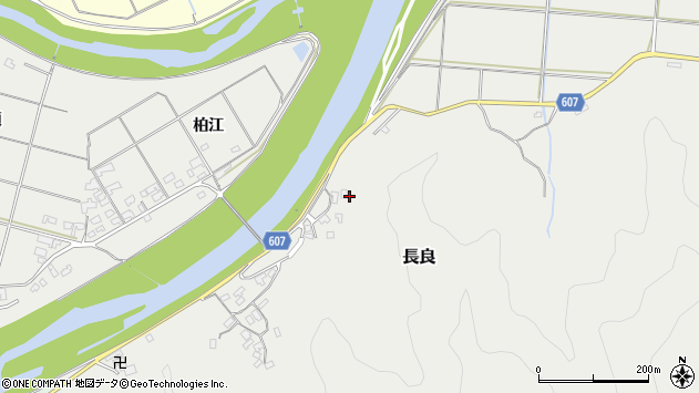 大分県佐伯市長良2473周辺の地図