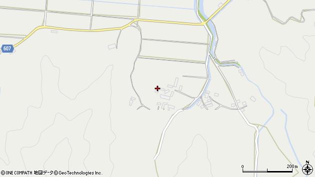 大分県佐伯市長良3577周辺の地図