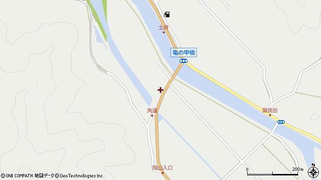 大分県佐伯市木立402周辺の地図