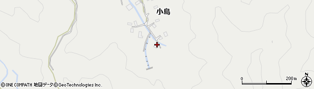 大分県佐伯市長良4478周辺の地図