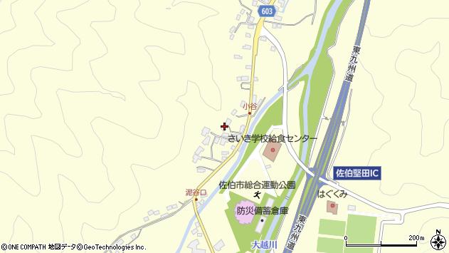 大分県佐伯市長谷5699周辺の地図