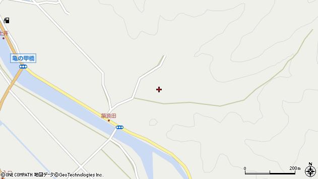 大分県佐伯市木立6253周辺の地図