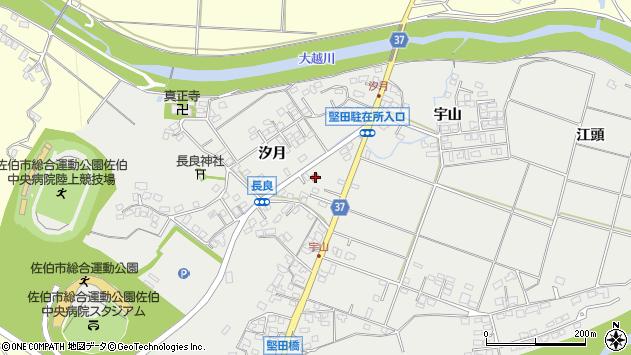 大分県佐伯市長良62周辺の地図