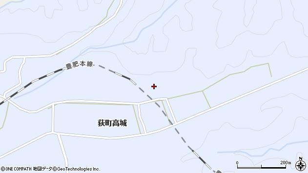 大分県竹田市荻町高城1001周辺の地図