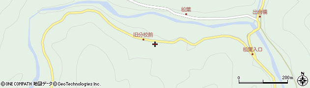 大分県佐伯市本匠大字山部2617周辺の地図