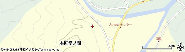 大分県佐伯市本匠大字堂ノ間131周辺の地図