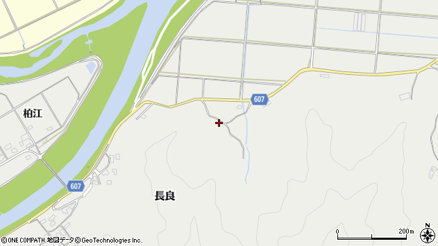 大分県佐伯市長良2812周辺の地図