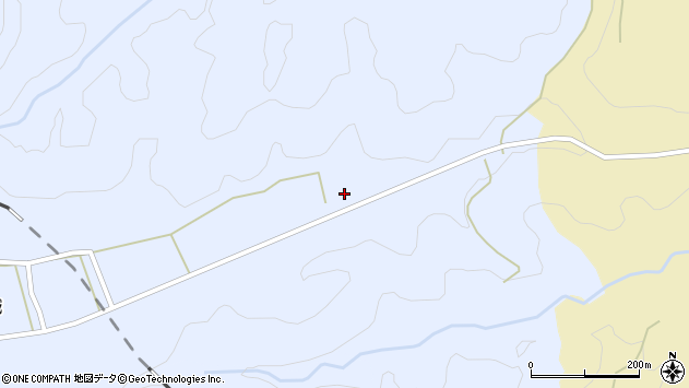 大分県竹田市荻町高城1153周辺の地図