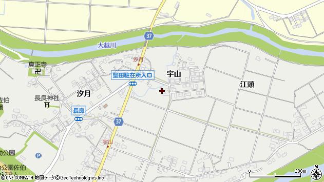 大分県佐伯市長良845周辺の地図