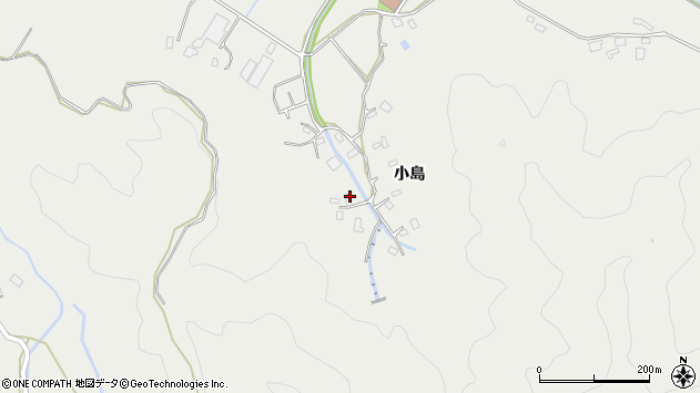 大分県佐伯市長良4506周辺の地図