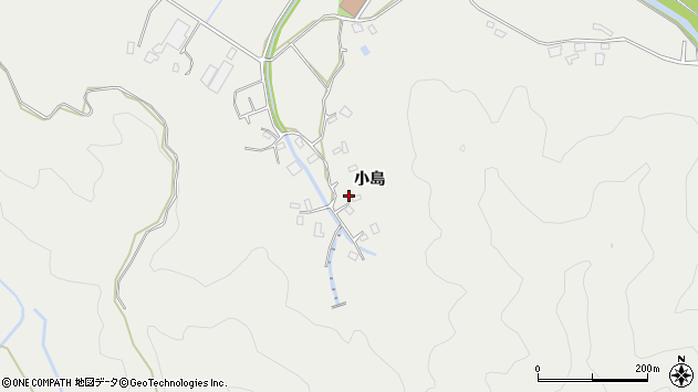 大分県佐伯市長良4540周辺の地図