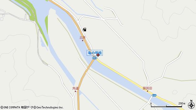 大分県佐伯市木立6513周辺の地図