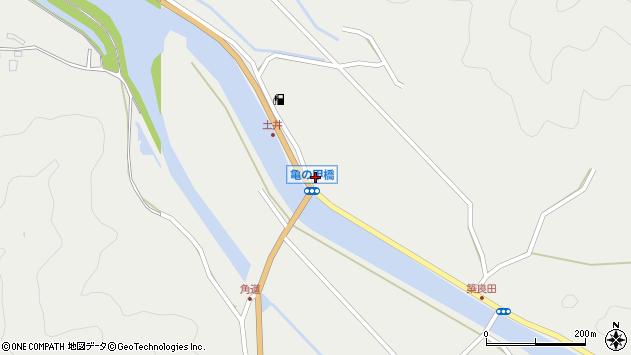 大分県佐伯市木立6511周辺の地図