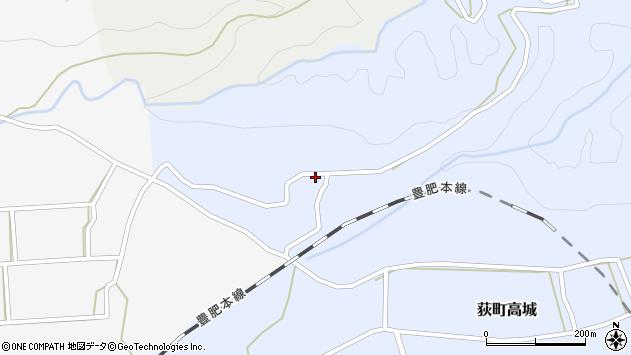 大分県竹田市荻町高城583周辺の地図
