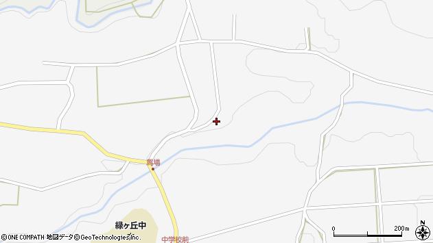 大分県竹田市荻町馬場1127周辺の地図