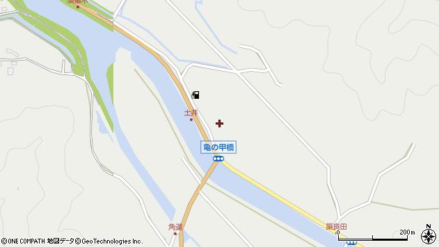 大分県佐伯市木立6517周辺の地図