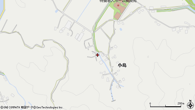 大分県佐伯市長良4499周辺の地図