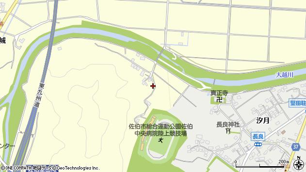 大分県佐伯市長谷7386周辺の地図